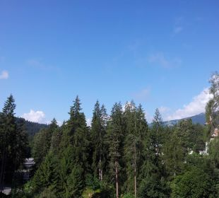 Blick vom Hotel Sunstar Alpine Hotel Flims