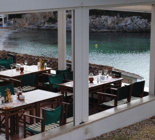Restaurantterrasse Hotel Poseidon Bahia