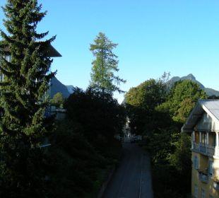 Blick vom Balkon Hotel Pension Erika