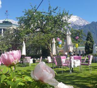 Gartenanlage Alpenresort Schwarz