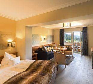 Komfortdoppelzimmer de luxe  Alpina Family, Spa & Sporthotel