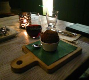 Dessert im Restaurant Park Inn By Radisson Lübeck