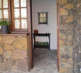 Eingang Casa Rural Aborigen Bimbache