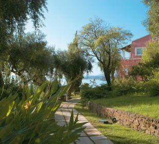 Luxus Unterkunft inmitten der Gärten Hotel Grecotel Eva Palace