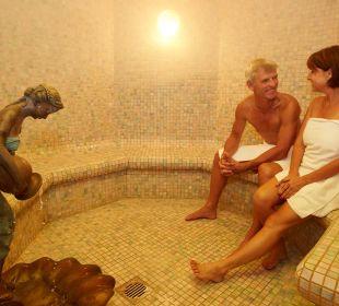 Der Wohlfühlbereich mit Dampfbad Hotel Mohren