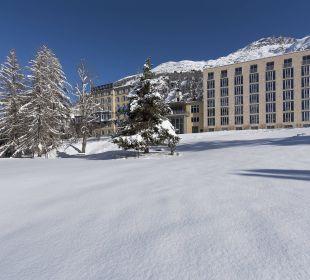 Das Saratz im Winter Hotel Saratz