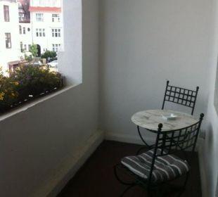 Balkon Zimmer 12 Hotel Residence Bremen