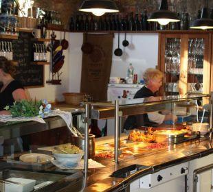 Tresen in der Braustube Griesbräu zu Murnau