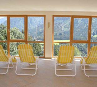 Wellnessbereich Pension Alpenhof Strenge