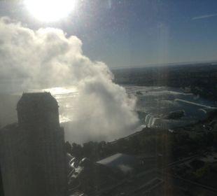 Ausblick auf Horseshoe Fall Hotel Hilton Niagara Falls / Fallsview