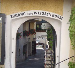 Zugang zum Hotel Romantik Hotel Im Weissen Rössl