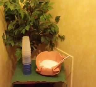 Dampfbad: Salzpeelingecke Romantik Hotel Sonne