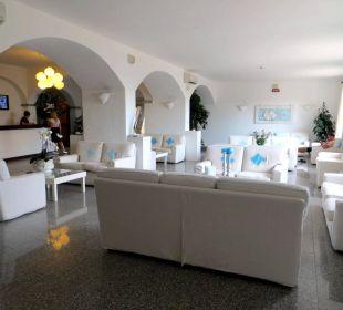 Lobby und Rezeption Hotel Gabbiano Azzurro