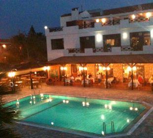 Sicht von der Bar aus Hotel Mimosa Beach