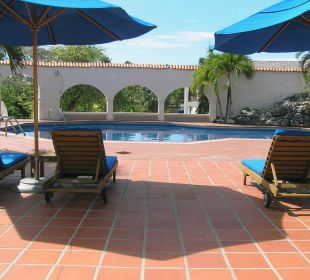 Poolbereich Hotel The Calabash