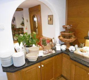 Frühstücksbuffet Gästehaus Wineberger