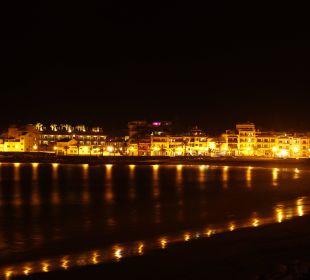 Valle Gran Rey bei Nacht Hotel Gran Rey