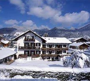 Gästehaus Hotel Garni Zibert im Winter Gästehaus Hotel Garni Zibert
