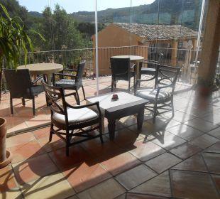 Veranda am Restaurant Hotel Parco Degli Ulivi