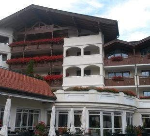 Teilansicht Südseite Edelweiss Grossarl - Der Stern in den Alpen