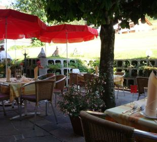 Gartensitzplatz Hotel Silbertal