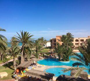 Ausblick aus dem Sparzimmer Hotel Safira Palms
