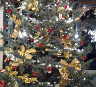 Wihnachtsdeko Hotel Meerane