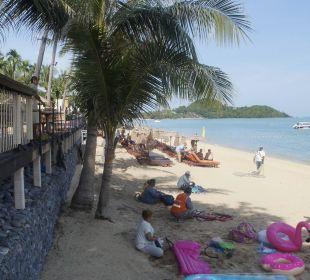 Ausblick nach links Anantara Bophut Resort & Spa