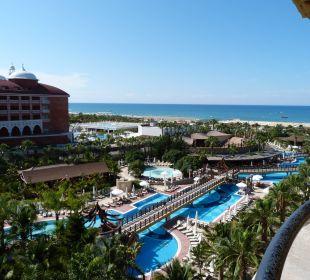 Ausblick von unserem Zimmer Hotel Royal Dragon