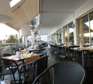 Restaurant im Freien Hotel Simbad