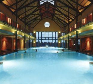 """Badelandschaft in den """"Badegärten Eibenstock"""" Reit- & Sporthotel Eibenstock"""