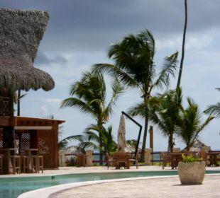 Pool mit Poolbar VIK Hotel Cayena Beach Club