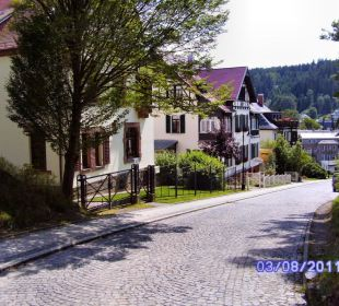 Weg zur Hotel- Pension Heimburg Hotel-Pension Heimburg
