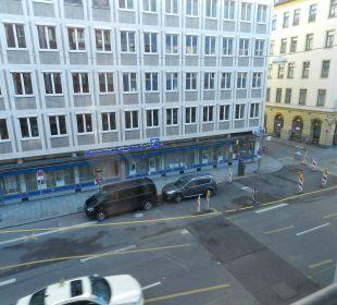 Blick aus dem Fenster Hotel Courtyard by Marriott München City Center