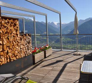 Dachterrasse Pension Mairhof