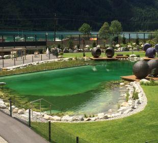 Gartenanlage Rieser's Kinderhotel Buchau