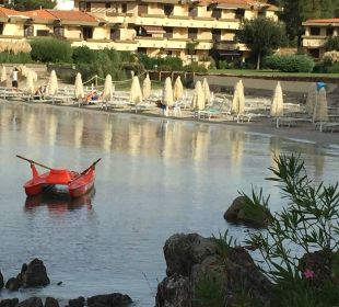 Die Bucht vom Hotel Hotel Gabbiano Azzurro