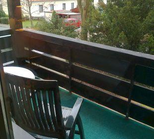 Blick vom Balkon Romantik Hotel Bösehof