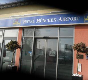 Hoteleingang Best Western Hotel München-Airport