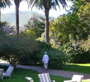 Gartenanlage Belmond Mount Nelson Hotel
