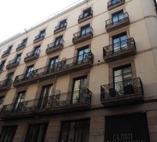 Außenansicht Hotel Ciutat de Barcelona