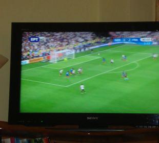 Fußball EM bei Freunden Hotel Possidona Beach