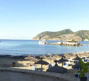 Ausblick auf die schöne Bucht Olimarotel Gran Camp de Mar