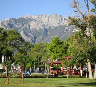Blick auf die Berge Kilikya Palace Göynük