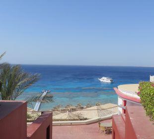 Blick auf Meer vom Hotel aus