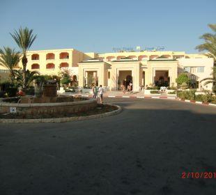 Eingangsbereich Skanes Family Resort