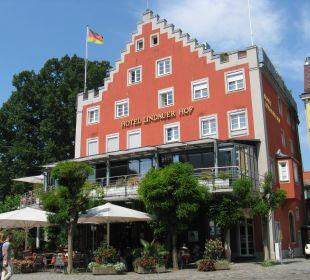 Vorderansicht Lindauer Hof Hotel Lindauer Hof