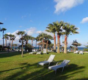 Viel Fläche zum Ruhen mit Meerblick Aparthotel Esperanza Park