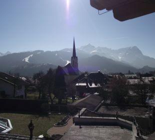 Hausberg Alpspitze und zugspitze AKZENT Hotel Schatten