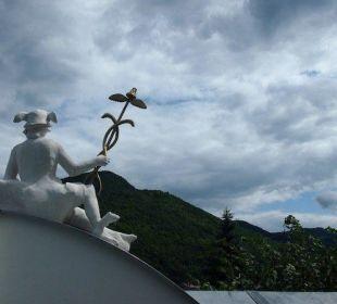 Ausblick vom Genießerzimmer Gasthaus Prankl